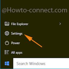 Imagini pentru windows 10 start settings