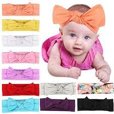 GIRAFY 11PCs Baby Headbands Bow Knotted ... - Amazon.com