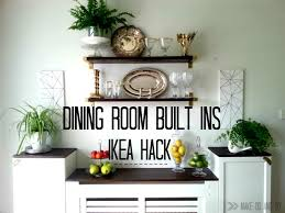 Ikea Dining Room Ikea Hack For Built In Dining Room Storagewhen You Have To Work
