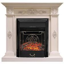 <b>Камин Royal Flame Derby</b> с Majestic FX BL белый дуб купить по ...