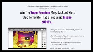 are casino slot games profitable for indie developers so if you like the idea of our mega jackpot slots template and want to try it for then just click the image below to sign up for our give away