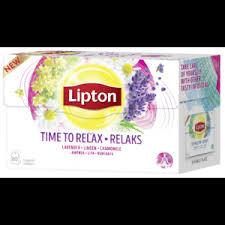 Чай в пакетиках <b>Lipton</b> Time to relax - «Закончите свой день с ...