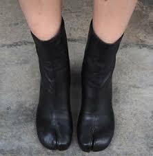 <b>Womens Split Toe Leather</b> Mid-Calf Boots Block High Heel Black ...