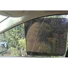 Wellco <b>Car</b> Side <b>Window</b> Sunshade <b>Sticker 2pc</b> 25-Inchx16.5-Inch ...