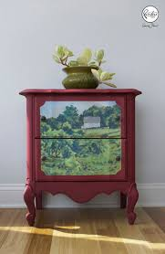 karen donnelly hand painted landscape chalk painted furniture