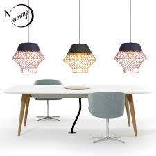 American retro industrial <b>E27</b> pendant lamps <b>iron bird cage</b> ...