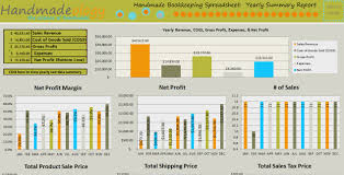 handmade bookkeeping spreadsheet just for handmade artists handmade bookkeeping spreadsheet