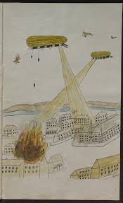 children s experiences of world war one the british library how i made a nightly attack on london my zeppelin story written