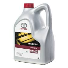 <b>Моторное масло TOYOTA Engine Oil</b> 5W-40 5 л — купить в ...