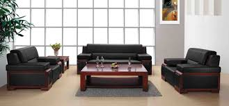 top office leather sofa black leather sofa office