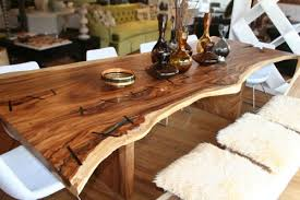 great wood slab dining table reclaimed solid slab acacia wood dining regarding unique wood dining tables designs top unique reclaimed wood dining tables amazing dining room table