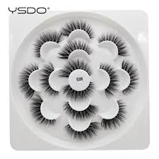 <b>YSDO</b> 7 <b>pairs</b> 3d mink <b>lashes</b> dramatic <b>eyelashes</b> cilios mink 3d ...