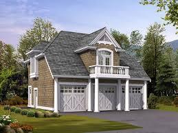 The Garage Plan Shop   Unique Carriage House Garage PlansCarriage House Garage Plans