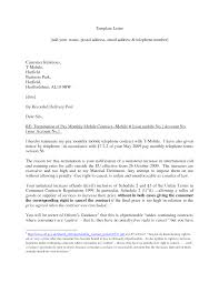 notice of termination of contract laveyla com contract termination letter best business template