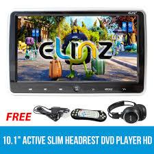 10.1 inch Active Slim <b>Headrest Car DVD Player HD</b> Digital TFT ...