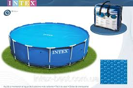 <b>Тент</b> для бассейна с эффектом антиохлаждение <b>Intex 29025</b> ...