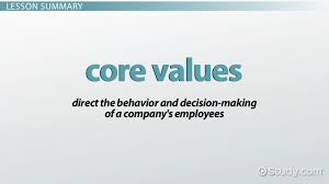 internal strengths weaknesses in swot analysis definition what are core values of a company definition examples