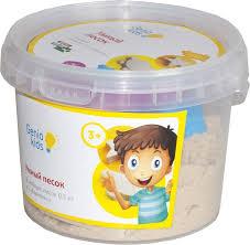 Genio Kids <b>Кинетический песок</b> Умный песок <b>0</b>,<b>5 кг</b> — купить в ...