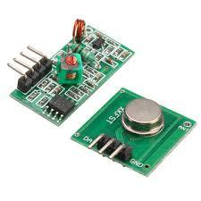 <b>433Mhz RF</b> Decoder <b>Transmitter</b> With Receiver Module Kit For ...