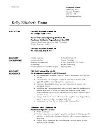 Biology Resume      Type text  Kelly Elizabeth Finno EDUCATION  University of Scranton  Scranton