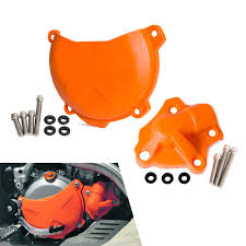 <b>Clutch Cover Water</b> Pump Ignition Cover For KTM 250 300 SX XC ...