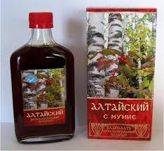 Non-alcoholic BALSAM ALTAI with Mumyo 250ML. Мумиё ...
