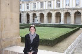 interview jeanine cali writer at the law library of congress jeanine at the saint remi museum in reims a unesco world heritage site