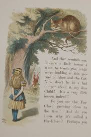 u va joins the celebration of alice at even in old english page from alice in wonderland
