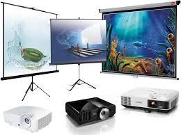 Картинки по запросу проектор и экран