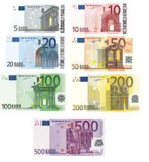 Image result for χαρτονομίσματα ευρώ