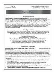 registered nurse professional resume sample   design resumes