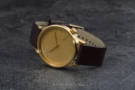 <b>Часы Komono Winston Gold</b> | Footshop