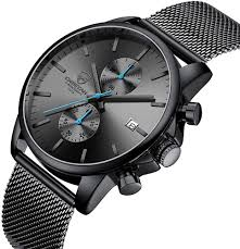 Men's Watch Fashion Sport Quartz Analog Mesh ... - Amazon.com