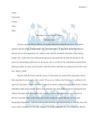 essay on law enforcement  dnndmyfreeipme prime essay writings term paper excessive use of force by policeprime essay writings term paper sur