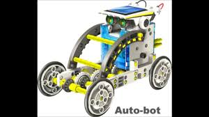 14 in 1 <b>Educational</b> Solar <b>Robot</b> Kit- Smyths <b>Toys</b> - YouTube