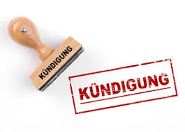 Image result for kündigung