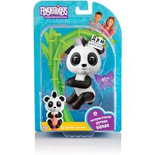 <b>Интерактивная игрушка Fingerlings панда</b> Дрю, 12 см 3564