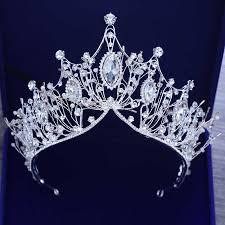 <b>Gorgeous Wedding Bridal</b> Headdress European <b>Crystal</b> Large ...