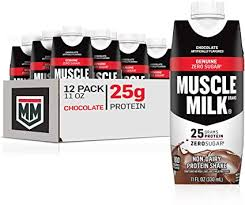 Muscle Milk Genuine Protein Shake, Chocolate, 25g ... - Amazon.com
