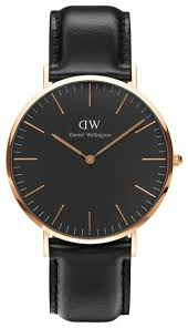 <b>Наручные часы</b> Daniel Wellington Classic Black Sheffield Rose <b>Gold</b>
