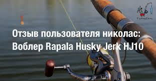 Отзыв пользователя николас: <b>Воблер Rapala</b> Husky Jerk <b>HJ10</b> ...