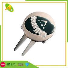 China <b>Custom 3D Antique</b> Brass Golf Accessories Golf Divot Tool for ...