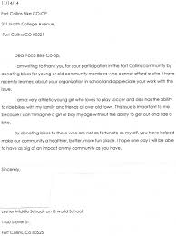 fort collins bike co op blog archive fan mail thank you letter