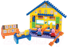 <b>BIG Школа</b> Peppa Pig 800057075 <b>Конструктор</b> купить в Минске