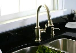kitchen home depot faucets ideas: kitchen agreeable brushed nickel kitchen faucet shower sprayer