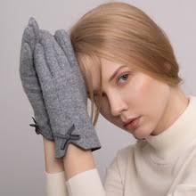 Зимние женские <b>перчатки</b> с <b>сенсорным</b> экраном, женские <b>теплые</b> ...