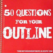 ideas about writing outline on pinterest  narrative writing  thinking through our fingers  questions for your outline