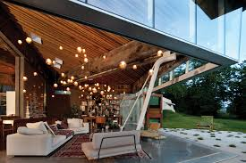 omer arbels lights add sparkle to the living space of a private residence in white rock architect omer arbel office click
