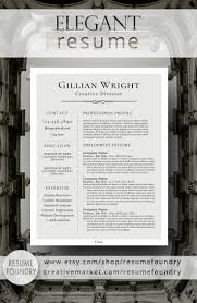 elegant resume template cv template cover letter for ms word elegant resume design that organizes your information so that it is eye catching and easy to understand compatible mac pc use microsoft word