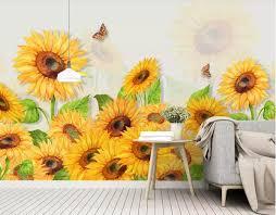 3d wallpaper custom photo mural <b>Nordic</b> minimalist small <b>fresh</b> hand